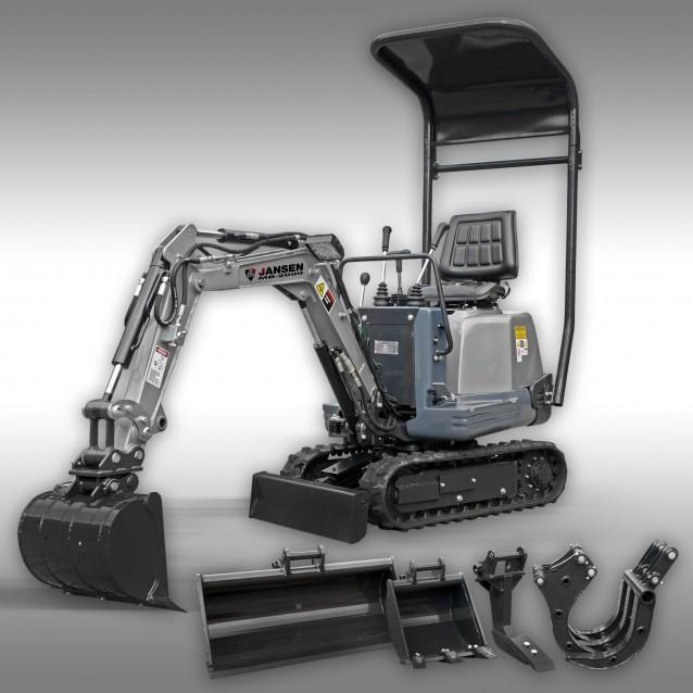 MINI-BAGR MB 2000 Diesel od Kč 228.000,-