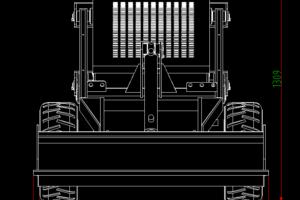 Machine side size diagram