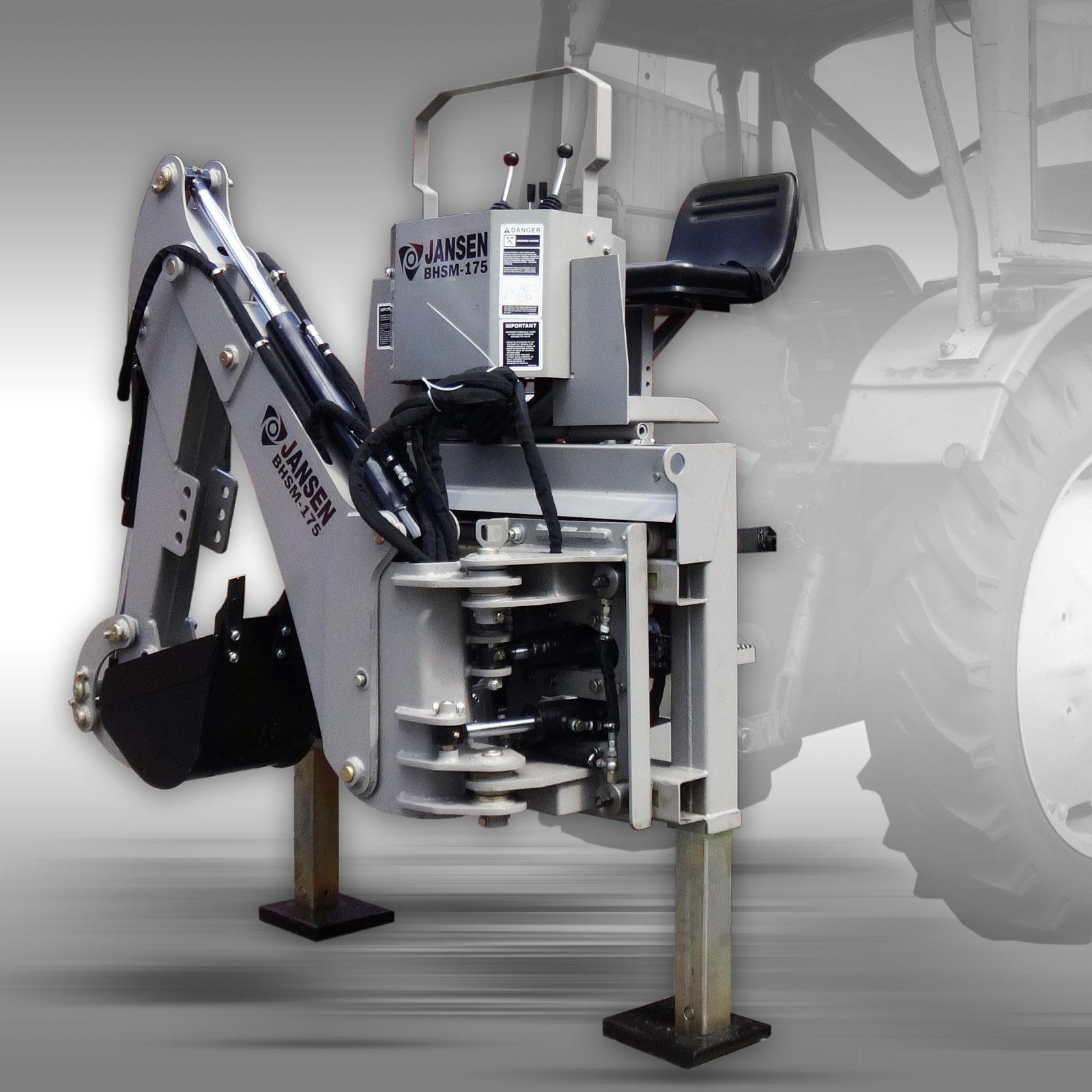 Traktorový  podkop  JANSEN  BHS M- 175   25-30PS  Cena od: 99.000,- bez dph